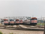 Metra 132, RTA 159, Metra 179, 144, and 136