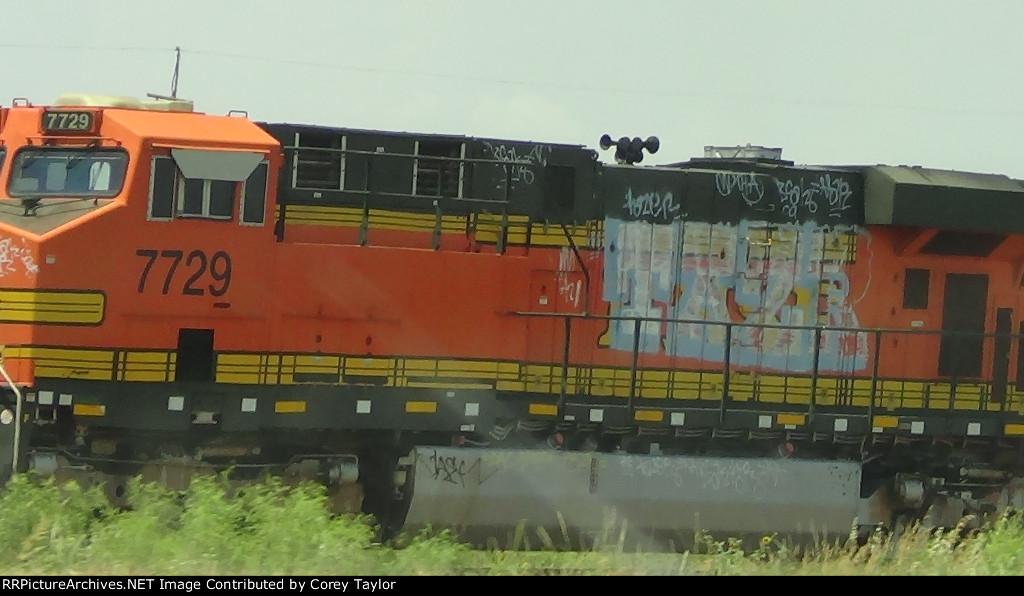 BNSF 7729