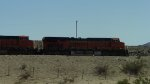 BNSF 7341 and 6825