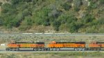 BNSF 4375 and 7044