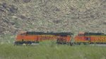 BNSF 7394 and 5372