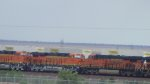 BNSF 7836, 6732 and 7548