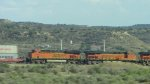 BNSF 7281 and 7240