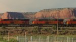 BNSF 7539 and 7502