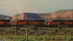 BNSF 7502 and 6828