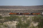 BNSF 7275, 6806, and 5512