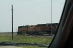 BNSF 9930 and 5961