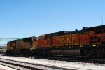 UP 4783 and BNSF 4531