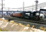 Bussiness train leaving Roanoke