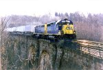 CSX Intermodal Crossing The Thomas Viaduct