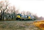 CSX units lay up for the weekend