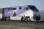 Amtrak 458 in Choo-Choo wrap w Coachella  Express