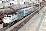 Metrolink train #687 is pushed towards L.A. by F59PH SCAX #862.