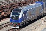 Caltrans Charger CDTX #2111 leads Amtrak train #768 toward San Diego