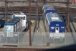 Caltrans Charger CDTX #2120 awaits prepping for Pacific Surfliner service.