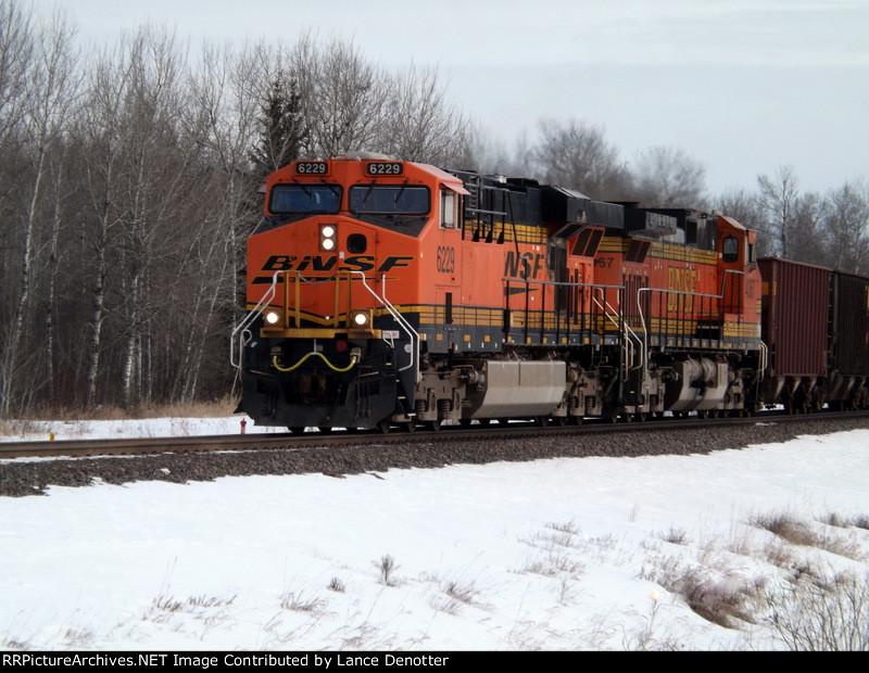 BNSF 6229