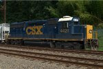 CSX GP40-2 4421 brings up the marker on C770-21