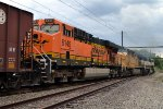 BNSF ES44AC 6145 is the third of three on K040-04