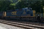 CSX SD40-3 4031 trails second out on Q418-17