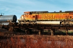 BNSF 4648 Wrecked