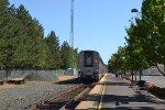 South Bound Amtrak leaving Salem, OR