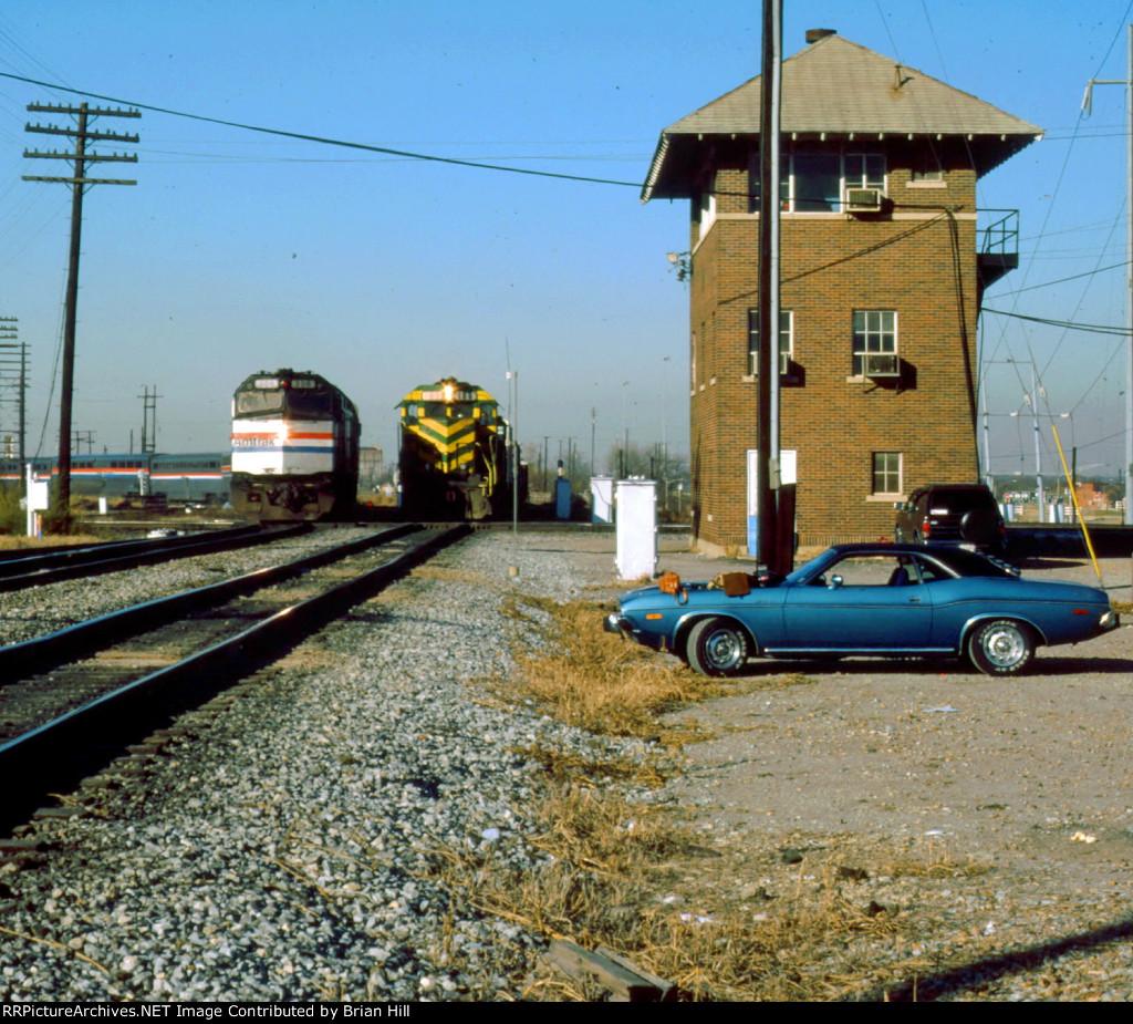 Amtrak, MKT and Mopar at Tower 55