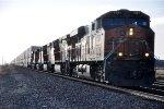Intermodal rushes east