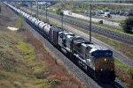 Westbound unit tanker train
