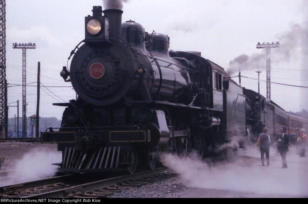 Doubleheaded steam in Enola Yard