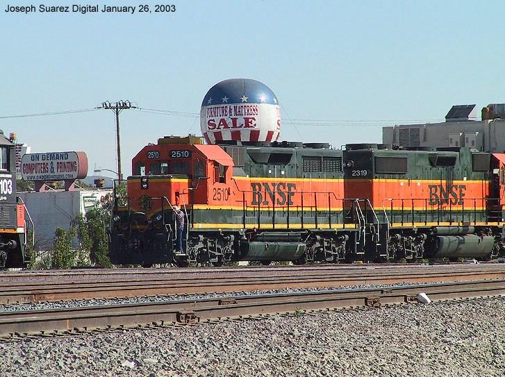 BNSF 2510