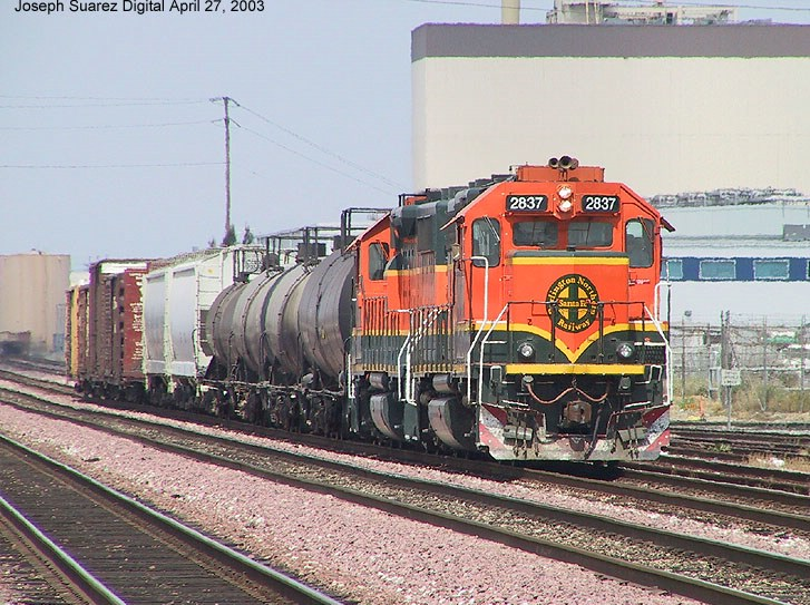 BNSF 2837