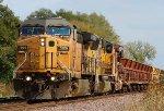 ex-GECX AC44 on a Ballast Train