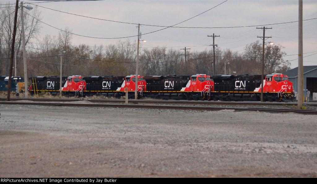 New CN ES44ACs