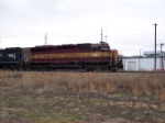First SD45 of the last SD45's