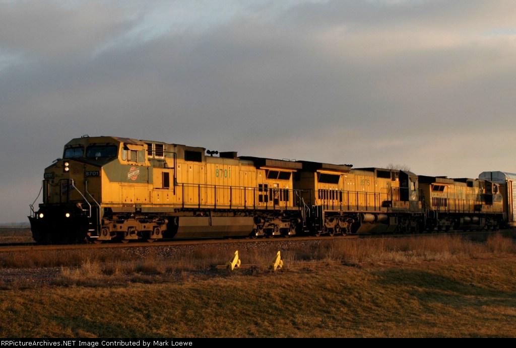 CNW 8701 Sunrise