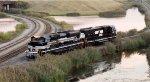 NS 15M Reversing into Buffalo Creek Yard
