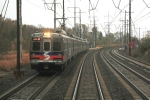 Overtaking Septa train 9218(12)