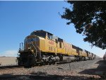 UP 4461 (EMD SD70M) in Milpitas, CA
