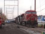 Train 65W holding in Westville