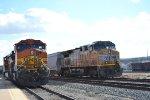 UP 6067 & BNSF 4354