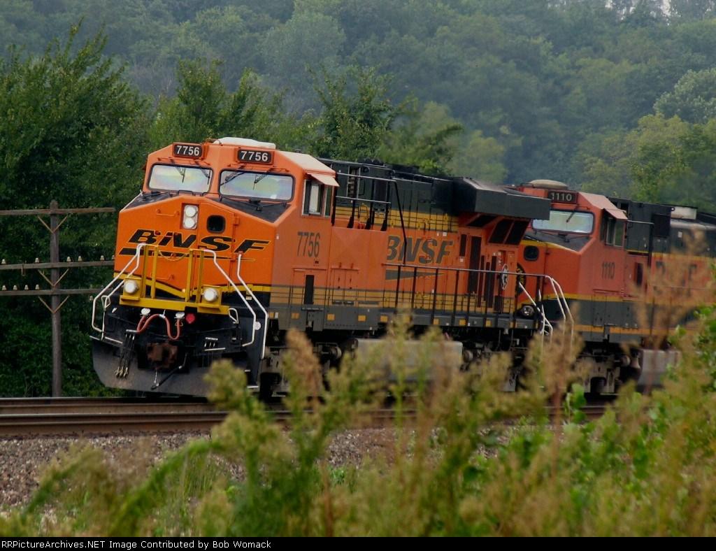 BNSF 7756 Emporia Sub