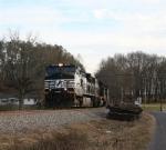 NS 9104 north on coal train 709
