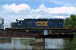 CSX SD40-2 8815 trails on WPCA-11