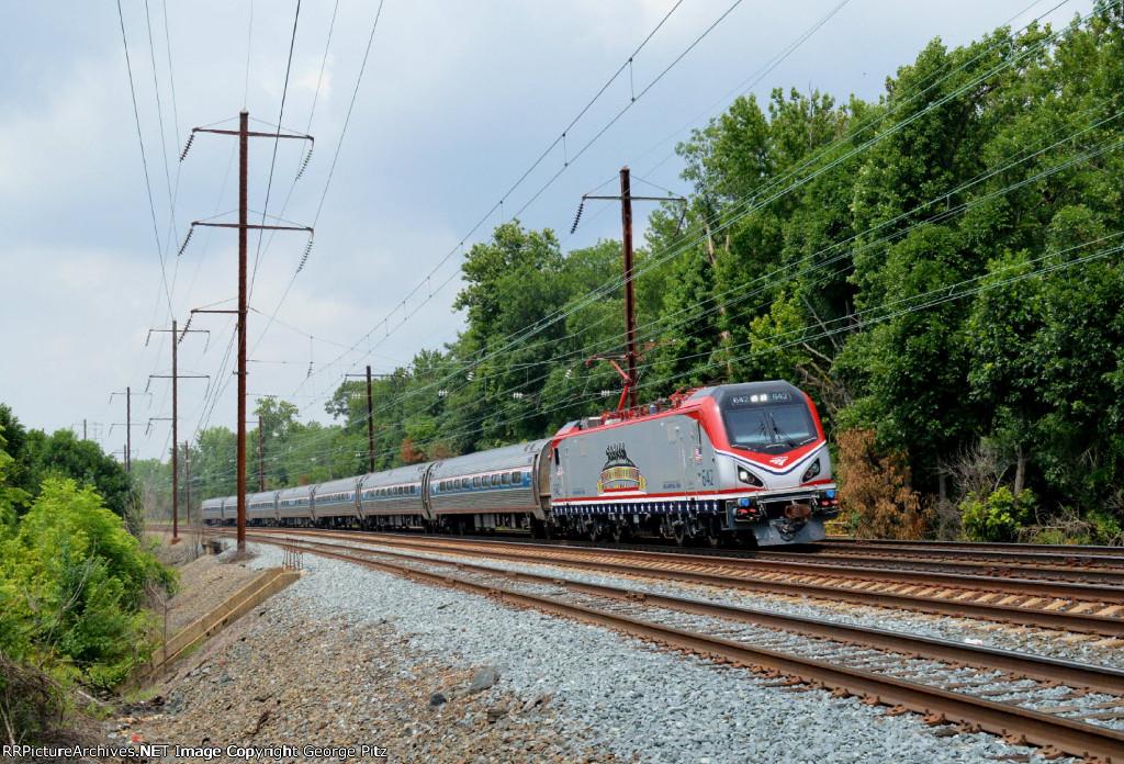 Amtrak train 84(29)