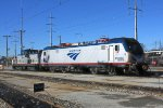 Amtrak ACS-64 606 with 80 tonner 1100