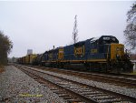 CSX M788 siting on the East Storage track