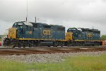 CSX 2748 & 6127 in Oakworth Yard in Decatur AL