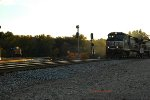 CSX waiting on NS to go North