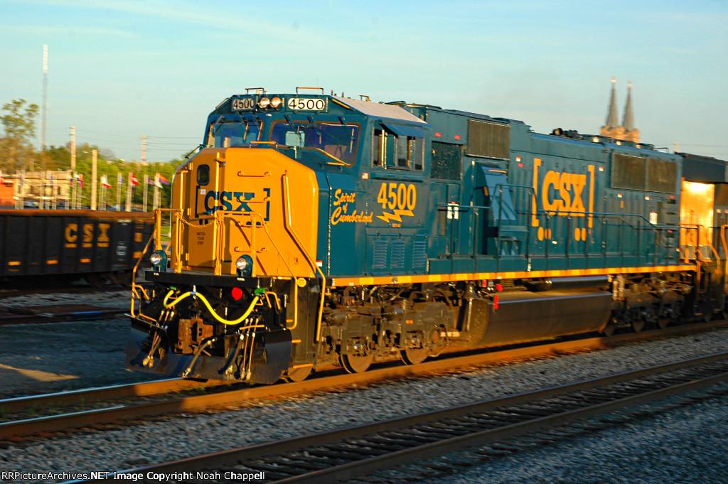 CSX Q220.10 Spirit of Cumberland