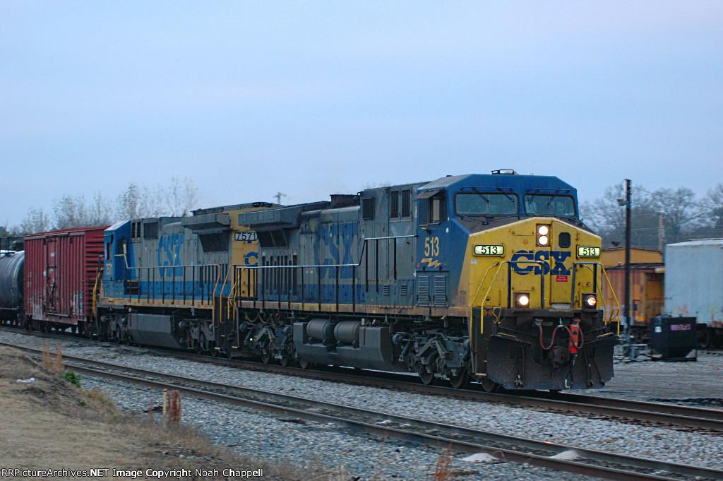CSX 513 and CSX 7571